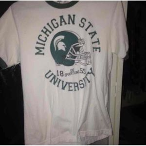 Michigan state short sleeve t shirt